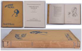 J H. Dowd, Book With Original Dust Jacket, Important People.  Brenda. E. Spender. Country life