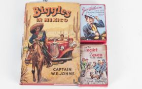 Biggles Book. Biggles In Mexico By Captain W. E. Johns 1959, With Original Dust Jacket, With a Set