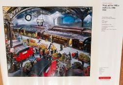 G.P.O Poster 1948 Euston Station, Loading The TPO Artist Grace Golden 1904-1993.