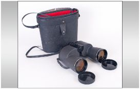 Solitel Prismatic Super Wide Angle Pair of Field Binoculars. 10 x 50. Double Hard Coated Lens. No.
