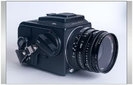 Hasselblad Camera 50K & Many More Accessories Plus Carrying Cases & Manuals. WitH Hasselblad