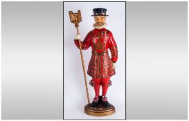 Beefeater 'Tower Of London Yoeman Of Guards Figure' C1940.