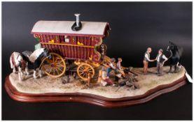 Border Fine Arts Fine & Impressive Large Limited & Numbered Edition Model Scuplture 'Gypsy Group