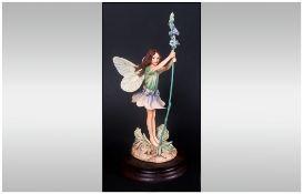 Border Fine Arts Ltd Edition Figurine ' Flower Fairies ' Sculptor C.M. Barker, Date 1983. Raised