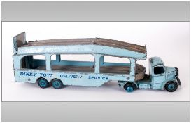 Dinky Toys 982 Diecast Model Transporter 'Pullmore Car Transporter' Complete with rear hinged