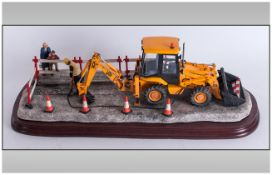 Border Fine Arts Limited & Numbered Edition Group Sculpture 'Essential Repairs' R.J.Ayres Sculptor