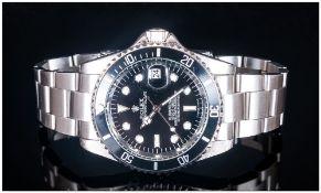 Modern Replica Stainless Steel Wristwatch