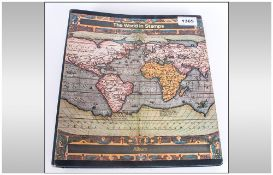 Stamp Album Containing A Quantity Of World Stamps