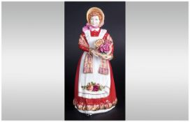 Royal Doulton Figure ' Old Country Roses '. HN. 3692, Designer N. Pedley. Issued 1995-1999. Height 8