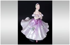 Royal Doulton Early Figure ' The Ballerina ' HN2116. Designer M. Davies. Issued 1953-1973. Height