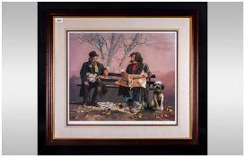 Lawrence Rushton 1919-1994 Artist Signed Ltd Edition Colour Print,