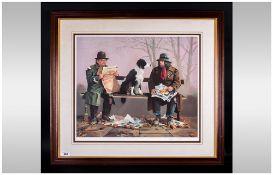Lawrence Rushton 1919-1994 - Artist Signed Ltd Edition Colour Print,