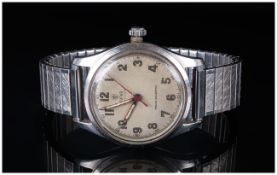 Rolex Tudor Oyster Mechanical Stainless Steel Wrist Watch. c.1940's/1950's. In Working Order.