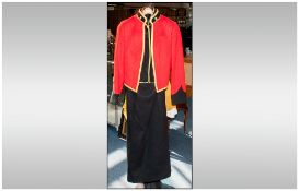 Military Interest - Ladies Adjutant Generals Corp Full Mess Dress