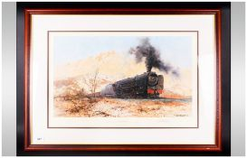 Limited Edition Framed Print By David Shepherd 'City Of Germiston' Pencil Signed by artist,