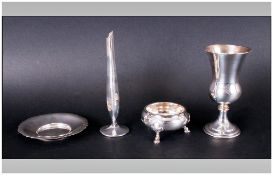 A Collection Of Vintage SIlver Items, 4 in total. Comprising 1.
