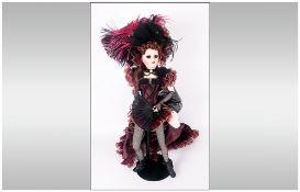 Franklin Mint Heirloom Boxed Doll, An original design by Maryse Nicole