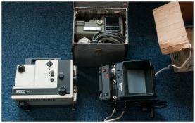 Two Boxed Projectors & 1 Movie Editor
