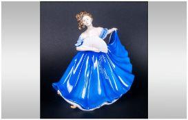 Royal Doulton Figure ' Elaine ' HN2791. Designer M. Davies, Height 7 Inches. Mint Condition.