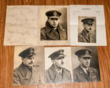 Five Photographs From The Rudeni Studio, 42 Fishergate, Preston. c.1940's - War Years, with an