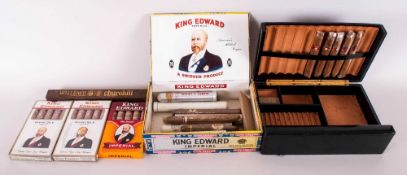 A Collection of 36 Vintage Top Quality Cigars - Cuban Mostly King Edward - Imperial / Delux. All