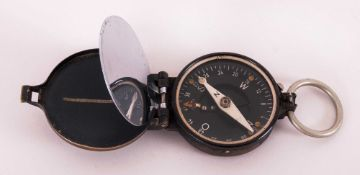 German WW2 Busch Marching Compass, Marked And Numbered 54490. Issued To The Unified Armed Forces