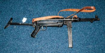 Display Purposes Only WWII Machine Gun
