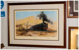 Limited Edition Framed Print By David Shepherd 'City Of Germiston' Pencil Signed by artist, numbered