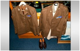 Military Interest - Ladies, One Full Service Dress Uniform, Together With A Second Jacket & A Pair