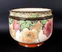 Royal Doulton Planter - Briar Rose Pattern. Reg Num.45404. c.1905-1910. 7 Inches High, 8.5 Inches