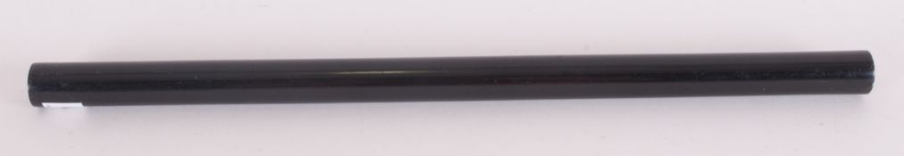 Victorian Architects Ebony Rolling Ruler. 18 Inches In Length.