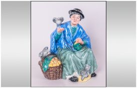 Royal Doulton Figure ' Tuppence a Bag ' HN2320. Designer M. Nicoll. Height 5.5 Inches, Mint