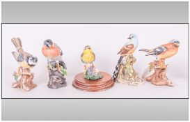 Leonardo Collection Bird Figure, together with 4 others.