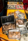 A Large Quantity Of Mixed Coins Comprising Modern Crowns, Britains First Decimal Coins, Some
