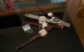 Small Quantity Of Quartz Watches To Include Timex, Henley & Roller