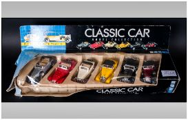 Classic Car Die Cast Model Collection ( 6 ) In Total. From The 1930's. Comprises 1931 Open Grand