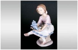 Lladro Members Only Collectors Society Figure 'My Best Friend' model number 7620. Date 1993 Only.