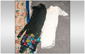 Collection Of Clothing Including Sequin Dresses, Cardigain , Jumper etc