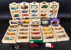 60 Various Boxed And Mint ''Days Gone By'' Lledo Cars And Trucks.  Including: 1920 Model ''T''
