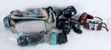Kodak Retinette 1A ( Type 042 ) Camera. Manufactured 1960-1963. Features Exposure Meter. Reomar.