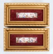 Pair of 19th Century French Enamel Plaques on Copper, Depicting Classical Subjects After The Antique