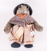 Gabrielle Designs Paddington Bears Aunt Lucy Circa 1970's In original condition. Dark beige plush,