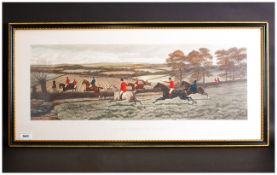 A Pair Of Fine Victorian Colour Engravings by C.R.Stock Of Two Paintings By E.A.S.Douglas Titled '
