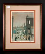G.W. Birks Limited & Numbered Colour Print, Number 349/350 Title 'Yorkshire Evening Post With