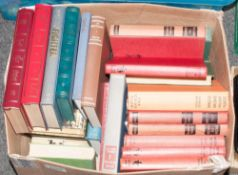 Box Lot of Misc Books, Mainly Novels and English Classics and Re-Prints.