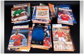 Assorted Football Programmes Including Blackpool Vs Brighton 2000, Blackpool Vs Halifax etc.