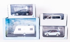 A Collection of Volkswagen / Norev Quality Diecast 1/43 Model Cars ( 4 ) In Total. Includes