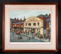 Tom Dodson Limited Edition Pencil Signed Colour Print Title 'Saturday Matinee' fine art trade