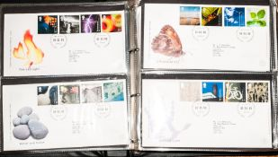 Three Collectors Range Albums, Full of Modern GB First Day Covers, mostly typed addresses, some