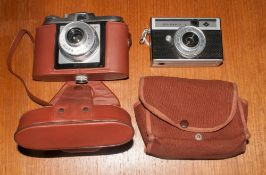 Agfa Isola 1 Camera cased together with Agfa Iso Rapid 1.